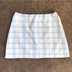 Handmade plaid skirt ✨